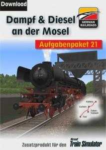Cover Aufgabenpaket 21 - Dampf und Diesel an der Mosel