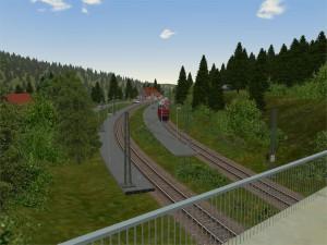 obere Zufahrt Bahnhof Feldberg-Bärental