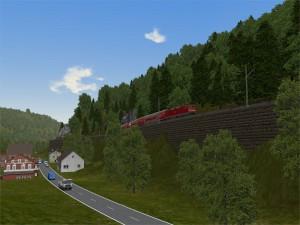 Strecke zwischen Himmelreich und Hirschsprung