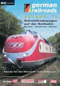 German Railroads - Vol.02 - Schnelltriebwagen auf der Rollbahn