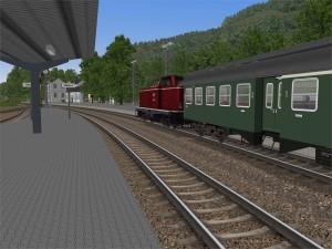 Nahverkehrszug in Betzdorf (aktuelle Version Biggetal)